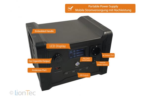 Mobile Power Supply 600 W